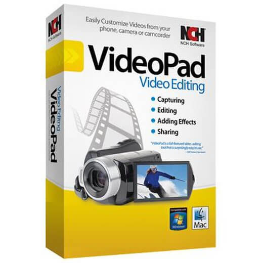 VideoPad Video Editor Pro 8.06 Crack Keygen 2020 Latest Download