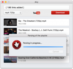 Airy HD YouTube downloader
