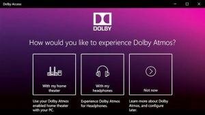 Dolby Access Crack for Windows